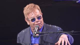 Sir Elton John - Blue Wonderful with Ferretti Group at the Yacht Club de Monaco