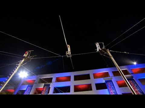 America's Got Talent 2016 Duo Guerrero Deadly High Wire Act Full Judge Cuts Clip S11E08