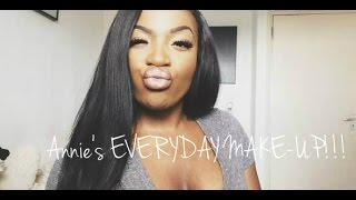 Beauty Diaries - EVERYDAY MAKE UP | AnnieDreaXO Thumbnail