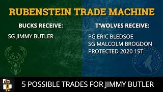 Jimmy Butler Trade Rumors: 5 Possible Trades For The Timberwolves Superstar