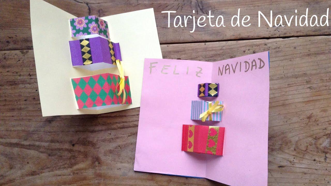 Tarjetas de navidad manualidades 3d my blog - Tarjeta de navidad manualidades ...