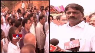 Land Grabbing Near Durgam Cheruvu In Hyderabad | HMTV