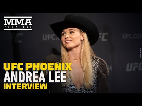 UFC Phoenix: Andrea Lee Says It 'Sucks' Dealing With Sensitive Personal Issues in the Public Eye