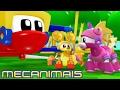 🐸🤖 Mecanimais Brasil Português 🐸🤖 Episódio especial de 2 horas 🐸🤖 Shows para crianças 🐸🤖