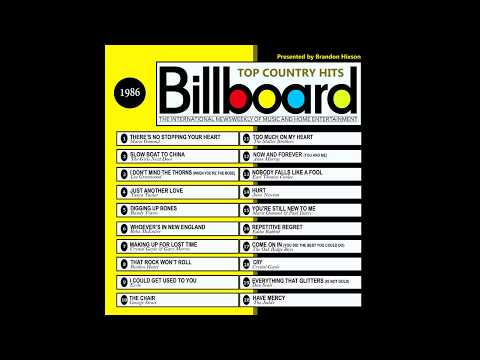 Billboard Top Country Hits - 1986