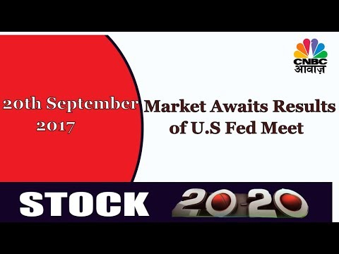 Market Closely Watches U.S.Fed Meeting | Stock Market News Today | CNBC Awaaz