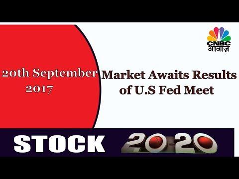 Market Closely Watches U.S.Fed Meeting | Stock Market News Today | CNBC Awaaz