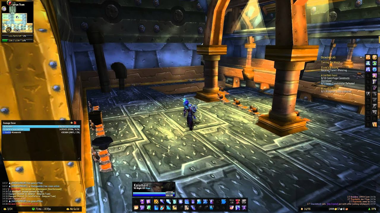how to get to brawlers guild entrance alliance world of warcraft youtube. Black Bedroom Furniture Sets. Home Design Ideas