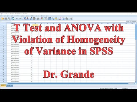 Interpreting T Test and ANOVA with Violation of Homogeneity of Variance in SPSS