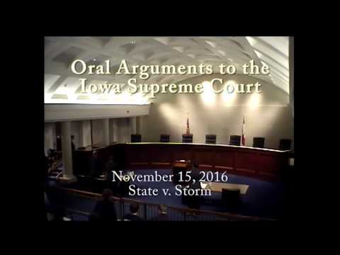 16–0362 State of Iowa v. Christopher George Storm, November 15, 2016