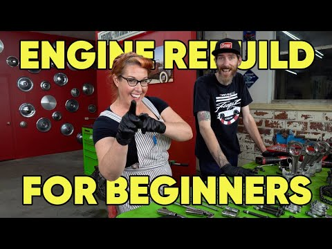 Engine Rebuild for Beginners, Part 1   Extra Good