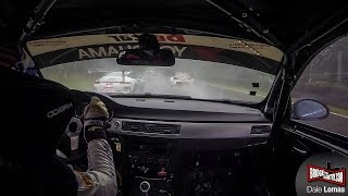 Onboard Skylimits/Yokohama BMW 325i with Markus Palttala at Zolder 24h Qualifying