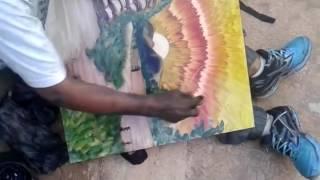 видео талантливый художник