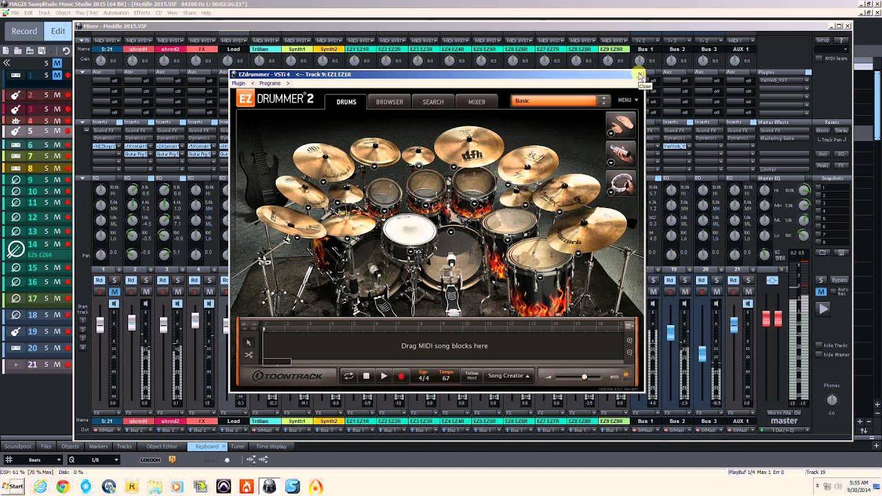 Samplitude Music Studio : samplitude music studio 2015 meddle youtube ~ Russianpoet.info Haus und Dekorationen