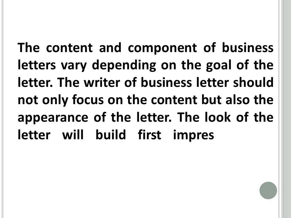 Proper Business Letter Format Sample With Letterhead - Youtube