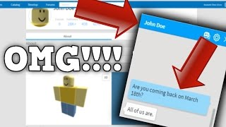 JOHN DOE IS MESSAGING ME AT 3:00AM!!! (Roblox Mysteries)