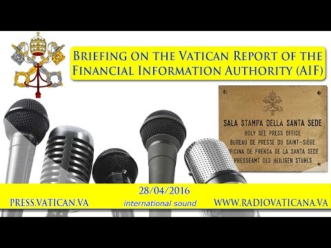Briefing on the Report of the Financial Information Authorit