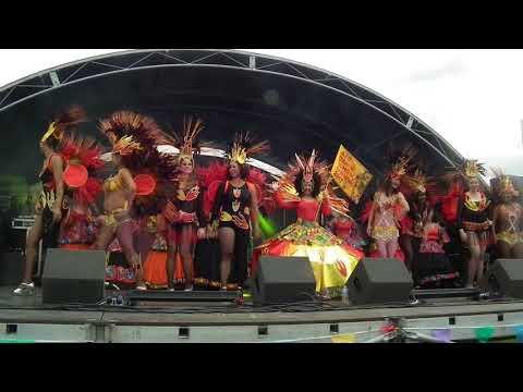 NOTTINGHAM CARIBBEAN CARNIVAL  STAGE SHOW(j) LATIN DANCE AUG 20 2017