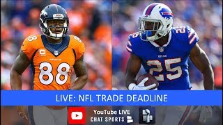 NFL Trade Deadline – Live Trade Rumors and Details on Dante Fowler,  Haha Clinton-Dix, Golden Tate