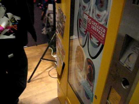 Sneaker Freaker Vending Machine