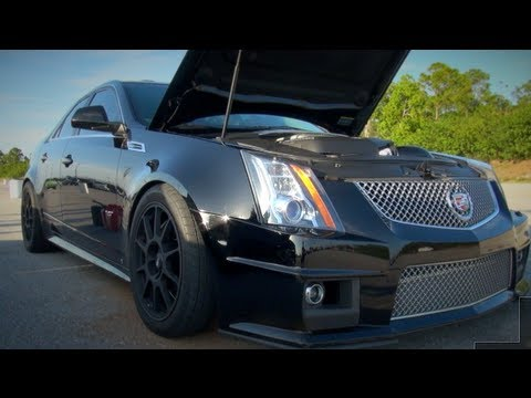Worlds Fastest Cadillac CTS-V - YouTube