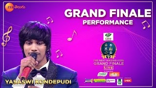 Yasaswi Kondepudi Grand Finale Performance | SA RE GA MA PA the Next Singing ICON