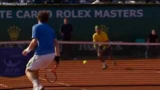 Nadal's Hot Shot Defence To Offense Vs Murray In Monte-Carlo