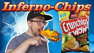 INFERNO-CHIPS Snack Check - Crunchips WOW Jalapeno Cream Cheese Inferno
