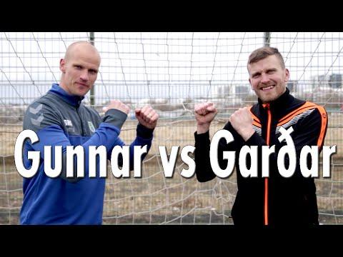 Gunnar Már Guðmundsson vs. Garðar Jóhannsson / fotbolti.net