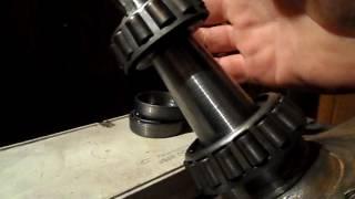 видео Ремонт передней ступицы