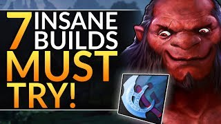 Top 7 INSANE BUILDS you MUST TRY in 7.24 - Best Heroes & Items to WIN | Dota 2 Meta Guide