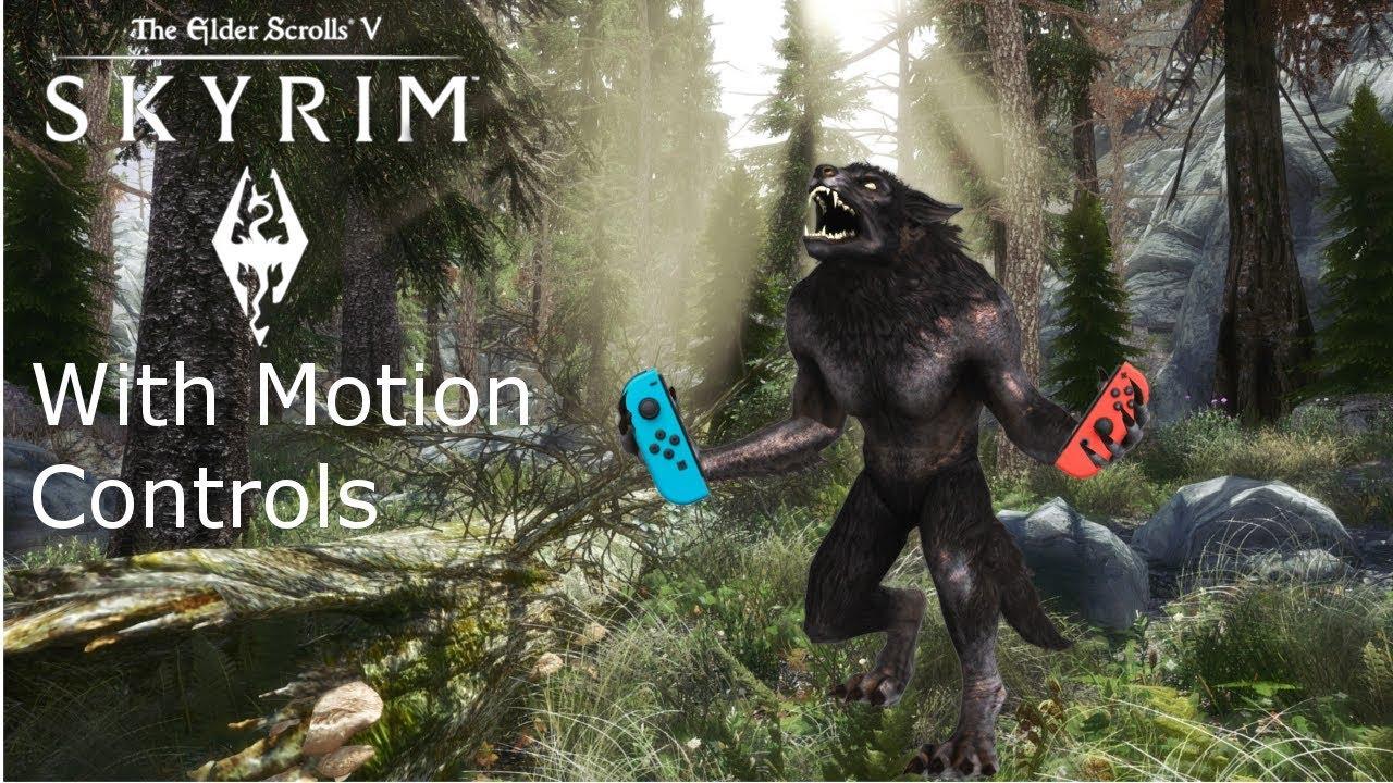 skyrim switch motion controls
