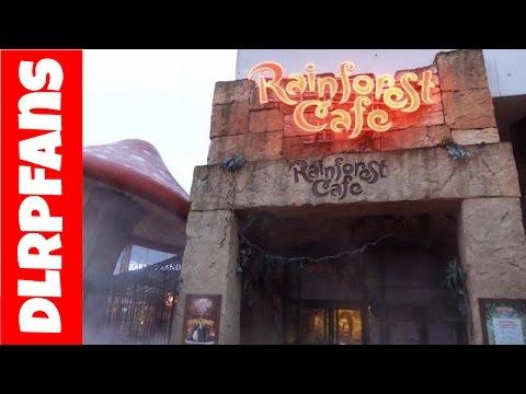 Rain Forest Cafe at Disney Village Disneyland Paris