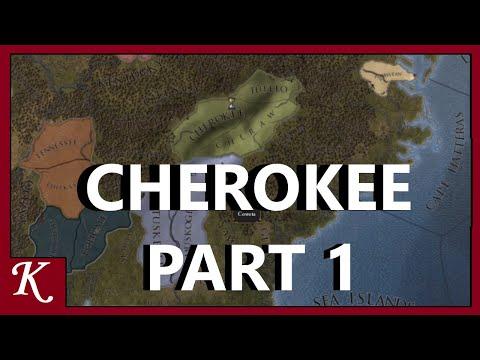 Europa Universalis 4   Cherokee   Part 1  