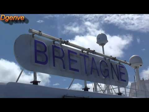 Brittany Ferries - MV Bretagne - St Malo to Portsmouth