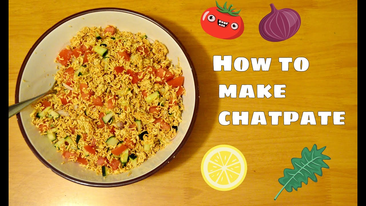 How to make chatpate at home   Nepali snack - YouTube