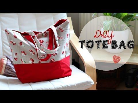 DIY Tote Bag - Beginner's Sewing Tutorial