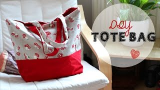 Diy Tote Bag - Beginner's Sewing Tutorial