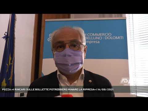POZZA:«I RINCARI SULLE BOLLETTE POTREBBERO MINARE LA RIPRESA» | 14/09/2021