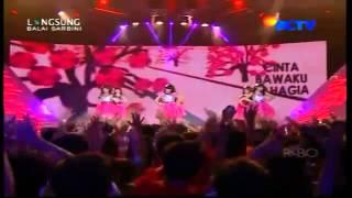 Cherrybelle - Love Is You - at Konser 2 Tahun Cherrybelle Cari Cinta 27 0213 (SCTV)
