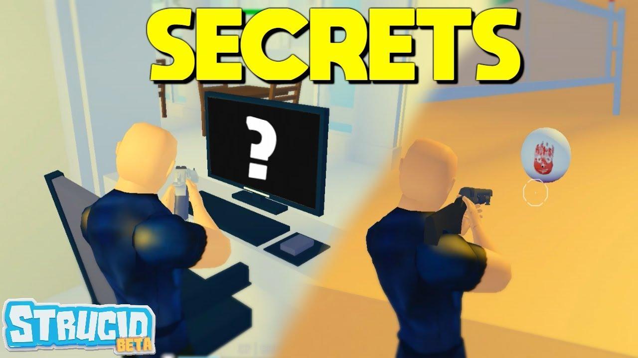 secrets    strucid map easter eggs youtube