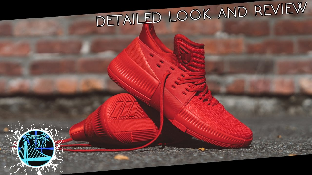 innovative design 66903 547d1 adidas Dame 3  Detailed Look and Review - YouTube