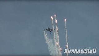 Belgian F-16 Fighting Falcon Demonstration - Sanicole Intl Airshow 2015