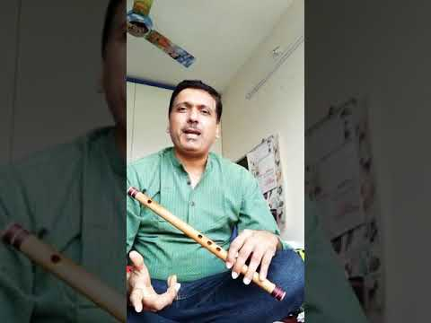 Raag khamaj bassed song on flute by Amar oak sir