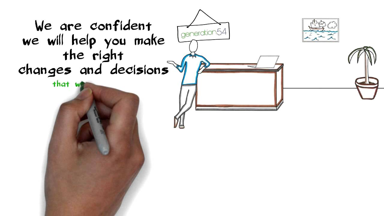 debodee 04- hand drawn Whiteboard animation video scribe to promote ...