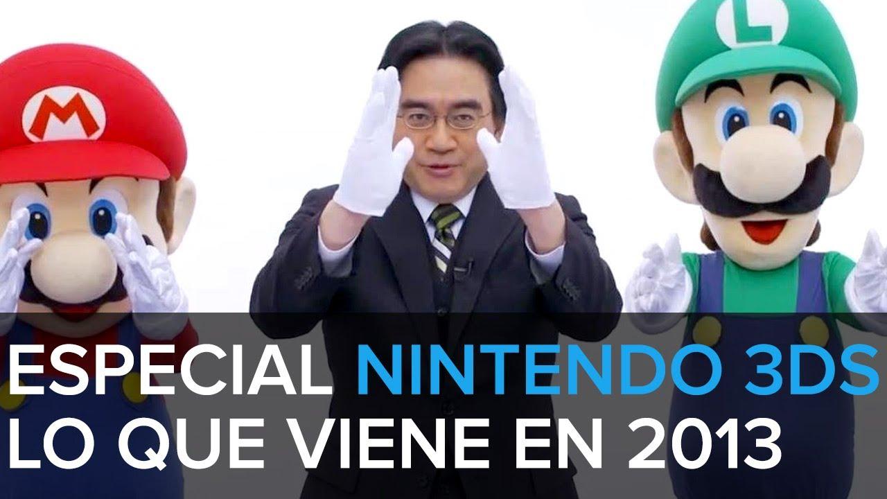 Especial Nintendo: sus juegos para 3DS en 2013