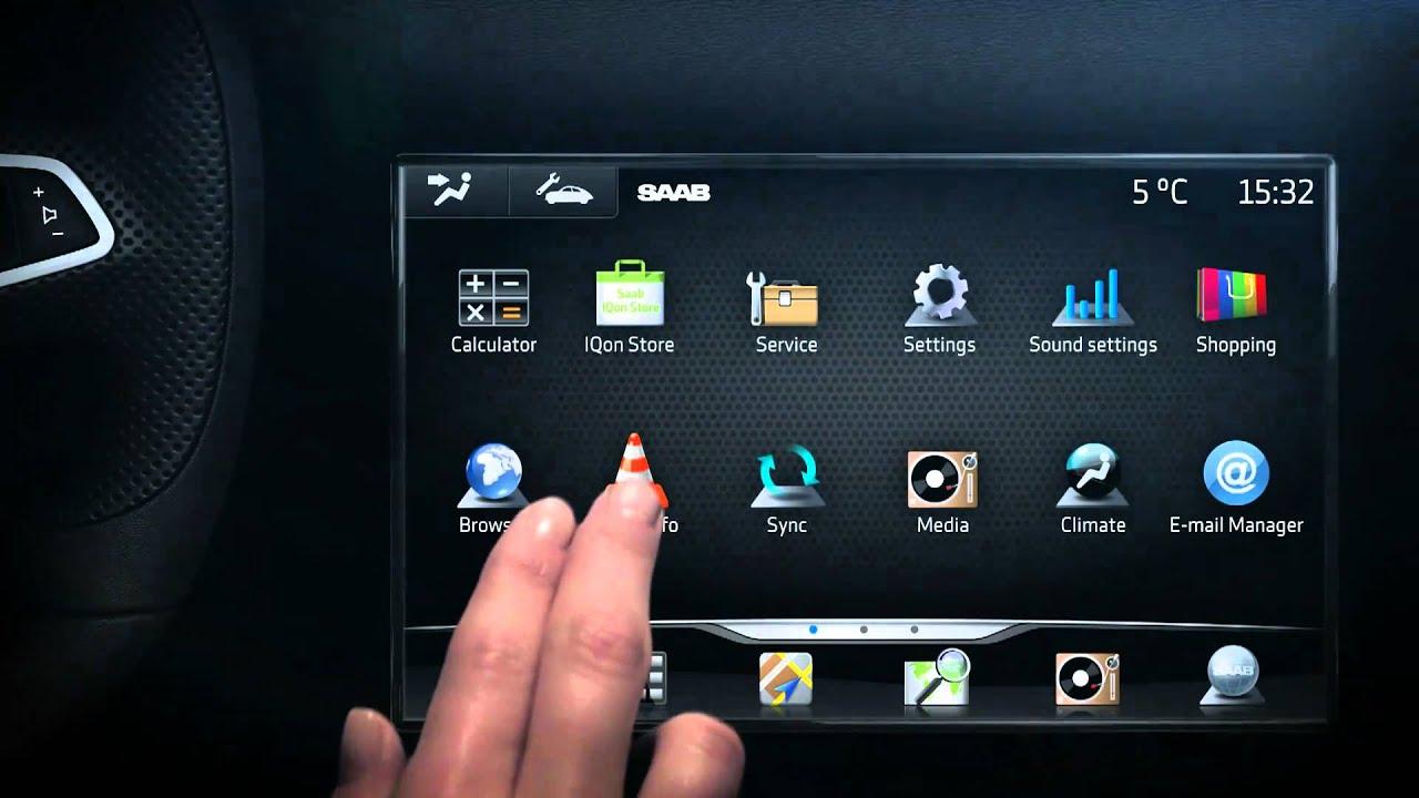 saab iqon infotainment system youtube rh youtube com Saab 9-3 2006 Saab 9 5 2.3