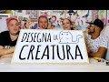 DISEGNIAMO la CREATURA #02 con Sabri, Giulio & Peo