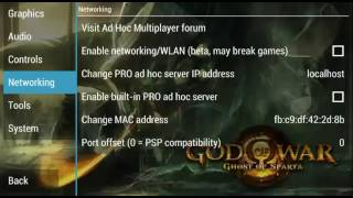 Settingan God Of War Ghost Of Sparta ppsspp
