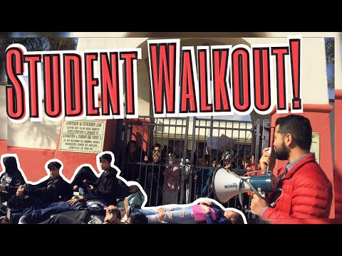 STUDENT WALKOUT PROTEST!!! (Haydock Middle School)